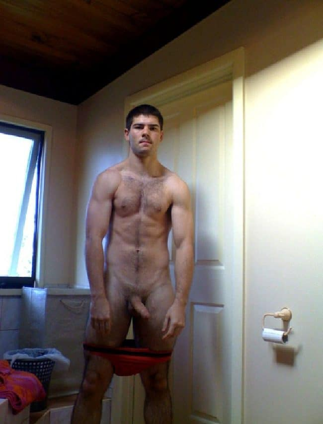 Hairy Nude Guy