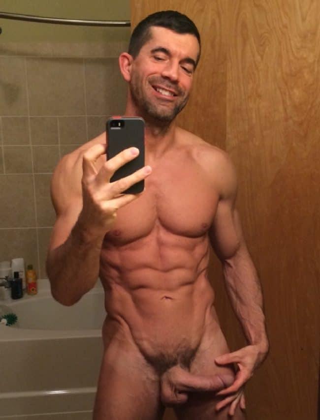 Happy Nude Man