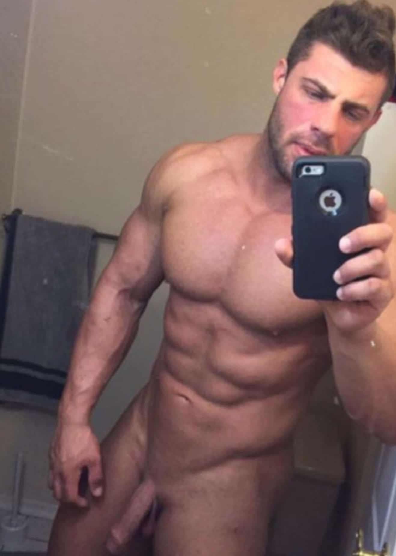 Hot Nude Muscle Man With A Pretty Penis - Cock Picture Blog