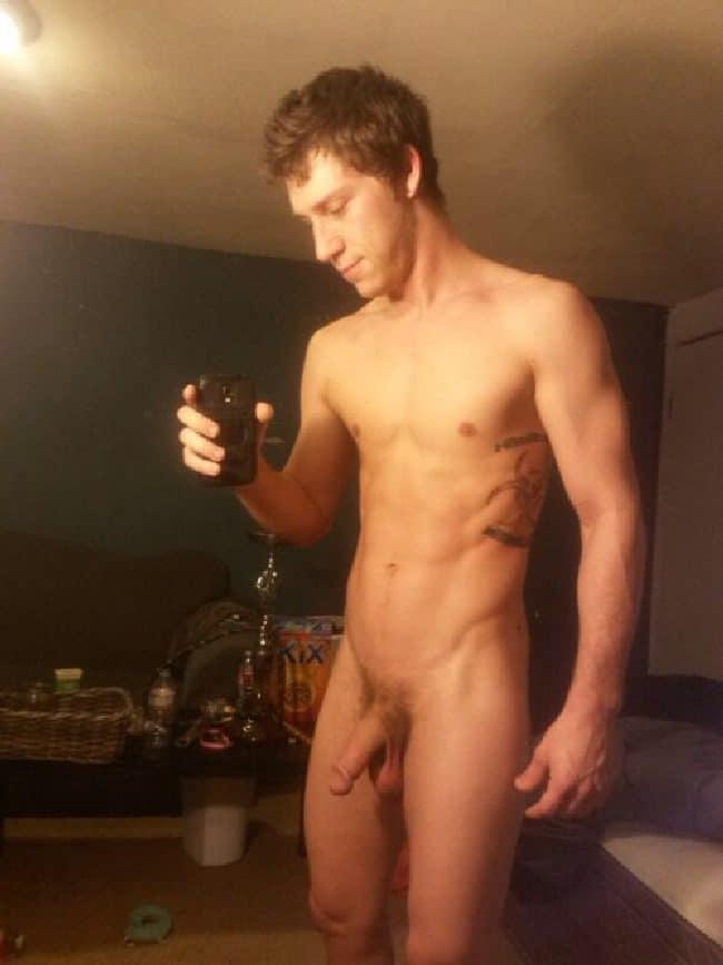 Nude Mirror Man