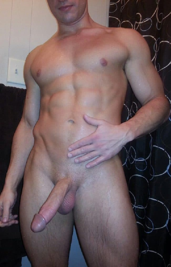 Nude Stud With A Big Shaved Hard Cock - Cock Picture Blog